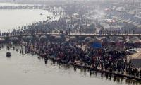 Millions gather to ´purify souls´ in Hindu bathing ritual