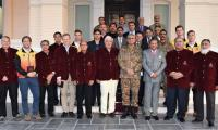 Army Chief assures PHF of security for int'l hockey matches
