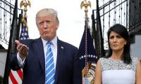Haley slams rumors of Trump affair as ´disgusting´