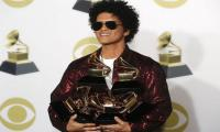 Bruno becomes star of Grammy's evening