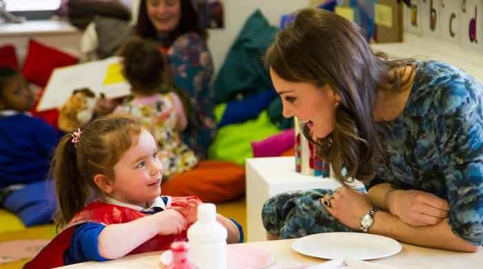 Kate Middleton launches Children's Mental Health Week 2018