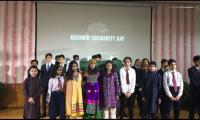 Students at Pakistan Embassy express solidarity with Kashmiris in Beijing