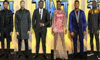 'Black Panther' star-studded squad speaks of optimism at London premiere