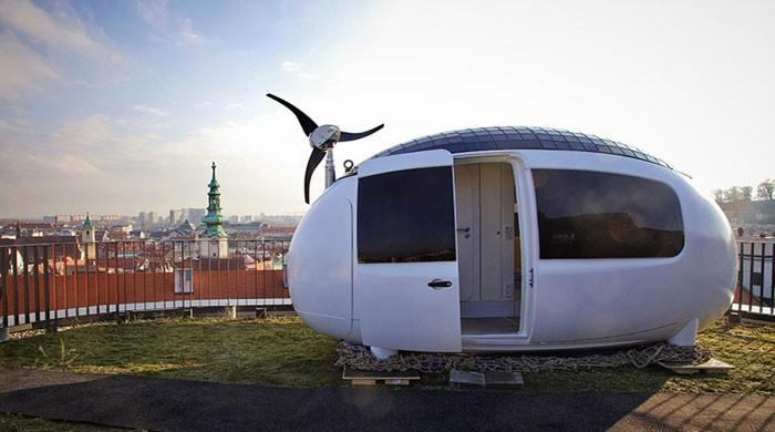 Eco-capsule has the answers to world's homeless people