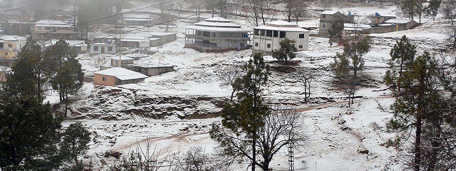 A glimpse into snow-engulfed northern region of Pakistan