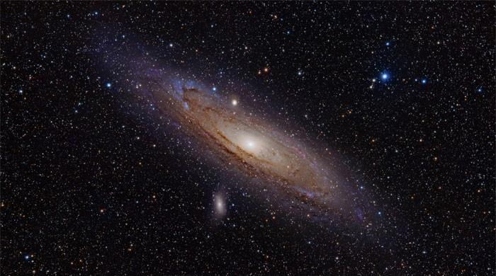 Andromeda galaxy was formed in ´recent´ star crash: study