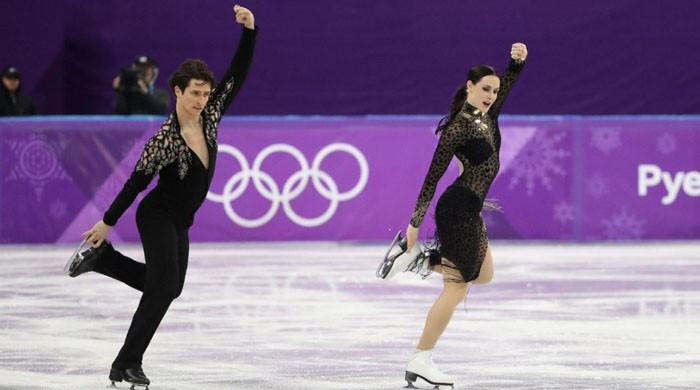 Canada´s Virtue and Moir set new ice dance world record