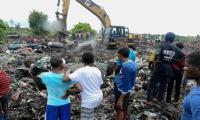 14 killed in Mozambique dump collapse