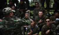 Marines drink cobra blood in US-Thai war drills