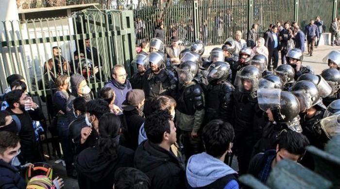 Three police killed in Sufi protests in Iran