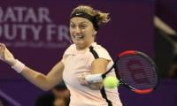 In-form Kvitova forced out of Dubai with injury