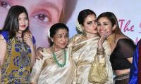 Renowned singer Asha Bhosle honoured with Yash Chopra Memorial Award