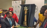 PSL–2018 trophy unveiled amid fanfare at Dubai