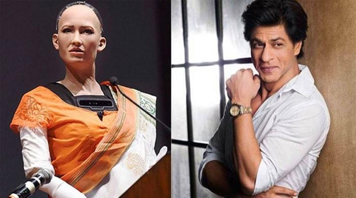 Even Humanoid Sophia fan of Shah Rukh Khan