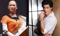 Even Humanoid Sophia fan of Shah Rukh Khan