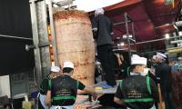 Iraq scores Guinness record of cooking world's largest shawarma