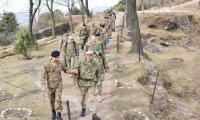 Defence Attaches of US, UK, France, China, Turkey visit LoC: ISPR