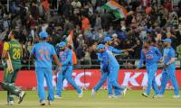 India finish tour in triumph as South Africa fall short