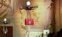D&G handed its bags to the drones at the Milan Fashion Week