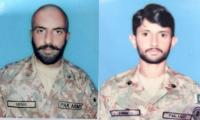 Two Pak Army soldiers martyred in Indian firing at LoC