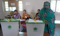 Polling underway in Sargodha by-poll for PP-30