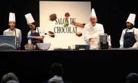 Belgian fashion show unveils unique chocolate ensemble clothing