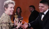 Frances McDormand's Oscar briefly stolen; viewing figures slump