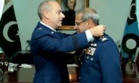 Pak air chief awarded highest military award of US armed forces