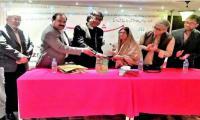Urdu fiction writer Naushabah Khatoon honoured at Mushaira in Qatar