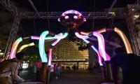 i Light Marina Bay illuminates Singapore
