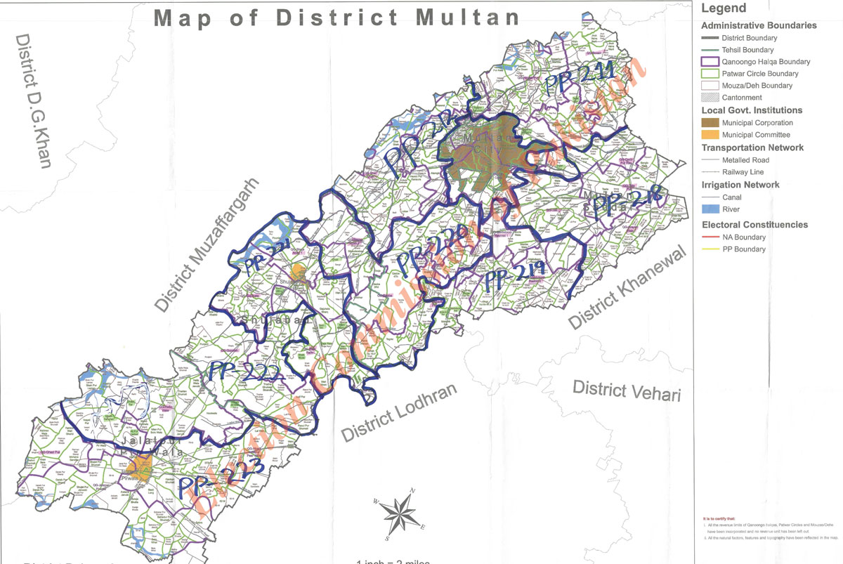 ECP launches maps of preliminary delimitation of National/Provincial