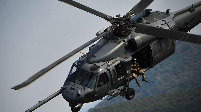 US helicopter crash in Iraq kills all aboard