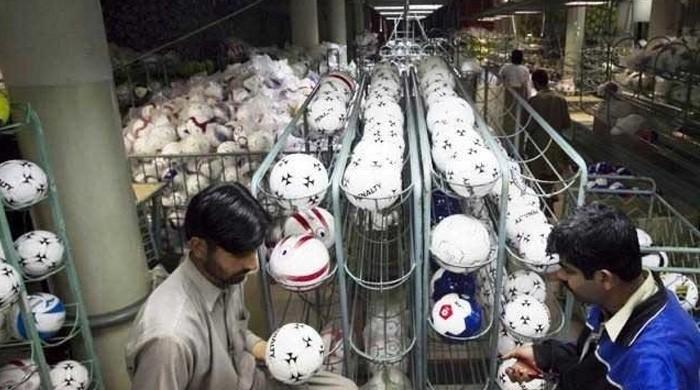 Pakistan-made footballs to represent country in 2018 FIFA World Cup