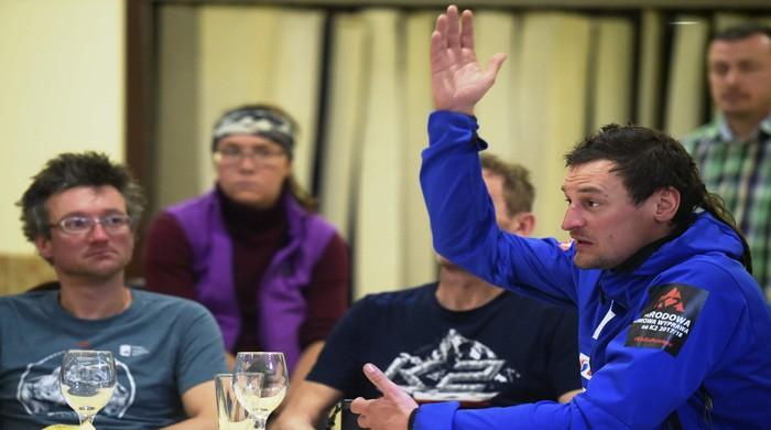 Polish Ice Warriors tell of defeat by Pakistan´s Savage Mountain