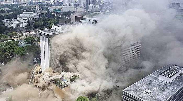Three killed, 23 injured in Philippine hotel fire