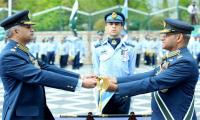 New PAF chief Mujahid Anwar Khan assumes command