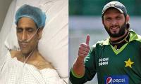 Afridi offers to pay for treatment of Mansoor Ahmed