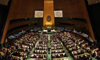 UN unanimously adopts Pak resolution on 'drug abuse in educational institutions'