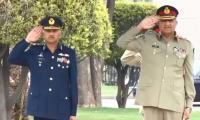 Army Chief congratulates new CAS Air Chief Marshal Mujahid Anwar