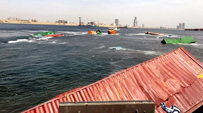 事件发生后,卡拉奇港口恢复营运
