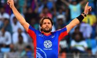 PSL 2018: Afridi 'disappointed' over missing match with Peshawar Zalmi