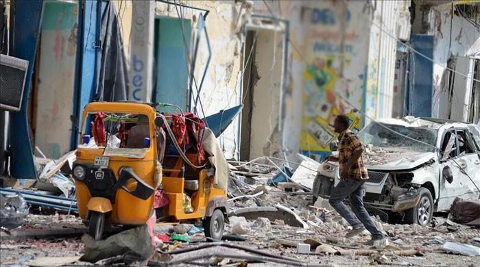 At least 14 killed in Mogadishu car bombing