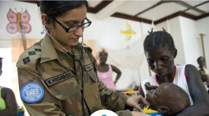 DG ISPR thanks UN for acknowledging Pakistan's peacekeepers