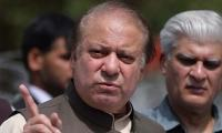 Nawaz holds out olive branch to institutions