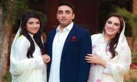 Bilawal, sisters Bakhtawar and Aseefa buy PSL final tickets