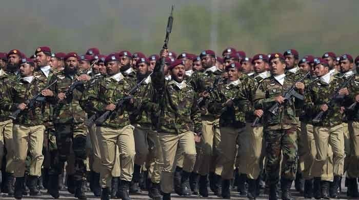 Military prowess on display at Pakistan Day parade