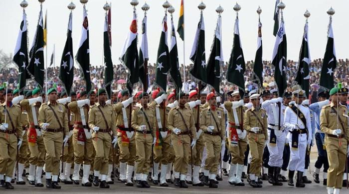 Pakistan Day being celebrated with zeal and fervor