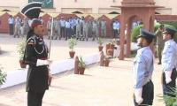 Change of guards ceremony held at Iqbal mausoleum
