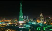 Burj Khalifa, Bosphorus Bridge light up Pak flag on Pakistan Day