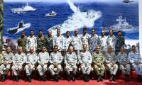 Debrief of Pak Navy Operational Exercise RIBAT-2018 held at Karachi